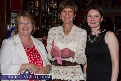 Kathleen Griffin (left) pictured with Catherine Horan and Eileen McCarthy at the Hospice Ball at The Crageens on Friday night. ©Photograph: John Reidy