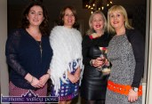 The McAuliffe sisters from left: Mary Teresa, Ann Marie, Noreen and Patricia pictured at the Castleisland Fashion Capital of Kerry show at Nana Bea's Restaurant and Coffee Shop on Thursday night. ©Photograph: John Reidy