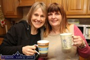 World famous musician, Sharon Shannon pictured before her January 2015 Ballymac debut with promoter, Mary Jones of Ó Riada's. ©Photograph: John Reidy 9-1-2015