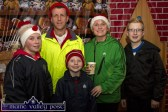 The Boyle family from Scartaglin pictured after they braved the elements at the annual GOAL Mile at An Riocht AC on Christmas Morning. Included are Tom and Anne and their children Leah, Gary and Tommy. ©Photograph: John Reidy