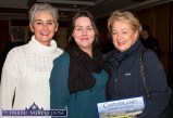 Jackie O'Connor (left) pictured with: Mairéad Guirey and Mary Ann Downes at the Castleisland Members' Golf Club information meeting at the River Island Hotel. ©Photograph: John Reidy