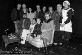 All together now: Ballymacelligott Drama Group sitting in for a group photograph during their rehearsals for the coming weekend's staging of 'Off the Hook' at the Ivy Leaf Theatre in Castleisland. Included are, seated: Tom O'Sullivan, Cillian Rahilly, Úna Kerins and Kay Dowling. Back row: Maurice O'Connell, Roger O'Halloran, Gail Groves, Mick Bolger, Siobhán O'Connor, Mary McDonnell, Ita O'Brien and Catherine Leahy. ©Photograph: John Reidy