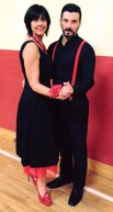 Liz Galwey and Padraig McCarthy who have been kindly sponsored by The Halfway Bar.