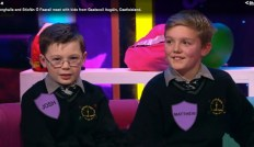 Josh agus Matthew ar Cleas Act.
