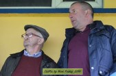 Neily McAuliffe (left) and Eddie Mannix enjoying Cordal's game against Tousist on Sunday. ©CúlPix by Nora Fealey 2016