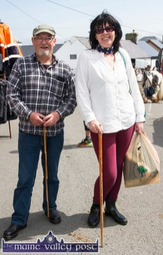 Adrian Scott and Rose Byrne, Tralee enjoying their day out at the annual Knocknagoshel Horse Fair. ©Photograph: John Reidy