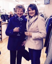 Mary O'Connell and Marie Hanafin at the opening of the Ivy Lane Boutique.Photograph Courtesy of Hannons of Castleisland.