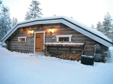 The house where Santa's first cousin and his chief toymaker, Riku Claus lives in Lapland.