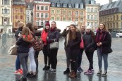 Enjoying the cultural City of Lille.
