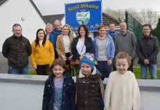 The Karaoke team from Kilmurry National School Parents' Association and little guests preparing for Saturday night at Hughes' Bar in Cordal. Included are: Bríd McCarthy, David Myers and Anna Kellih with: Jack O'Connell, Alison McGaley, Marie Flynn, Katie Flynn, Timmy Myers, Mary Teresa Kelliher, Aileen Cullnane, J.J. O'Connor, Denis McCarthy and Joe O'Connor. Photograph: Kilmurry NS.