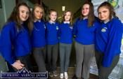 Katelyn Brennan, (left) with Sarah O'Sullivan, Ellen Collins, Catherine Cronin, Julieanne Murphy and Shauna Ahern at the Castleisland Community College 30 year celebrations. ©Photograph: John Reidy