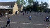 Football and basketball were all part of the week's activity at Curranes National School.