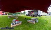 The Venue: The hallowed turf of The Crageens/Castleisland RFC ground ready for tonight's performance by the Galway Street Club between 10pm and 12 midnight. ©Photograph: John Reidy