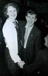 My grandmother Kathleen Pierce with Sean Brennan at a McElligotts Social. Courtesy of Gina McElligott.