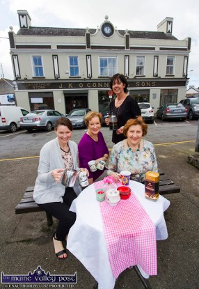 The team behind the successful Kerry Hospice Foundation Coffee Morning at The Market House in Castleisland on Thursday. Included are: Eileen McCarthy, Noreen O'Callaghan, Liz Galwey and Tess Fitzgerald. ©Photograph: John Reidy
