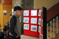 Paul Geaney at the Castleisland Camera Club Charity Exhibition and Sale of Work at The Market House on Saturday. Photograph: Castleisland Camera Club.