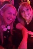 Sharon Shannon and Frances Black posing for Mary Jones.
