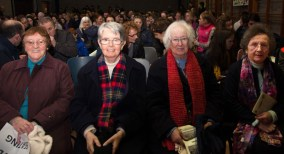 The Sisters of Presentation Convent enjoying the talent show. From left: Sr. Theresa McAuliffe, Sr. Mary Buckley, Sr. Maureen Kane and Sr. Margaret O'Brien.