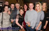 A group of fans from Castleisland. Rachel Gallagher (eft) is pictured with: Luke King, Danny Halsall, Neil Ahern, Melissa Daly, David Halsall, Jessie Hoare and Elaine Cahill at the Sharon Shannon Concert at Ó Riada's Bar and Restaurant on Friday night. ©Photograph: John Reidy