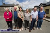 The Barrack Street team: Anne Courtney (left) pictured with: Jim Lordan, Breda Mulryan, then Kerry County Council Engineer; Breda Brooks, Cllr. Bobby O'Connell and John Lordan. ©Photograph: John Reidy