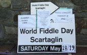 The bill of fare at World Fiddle Day Scartaglin 2018 on Saturday. ©Photograph: John Reidy