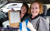 Noreen Hickey and Eileen Quinn from Firies checking in for Munster's only Drive-In Bingo Session to start on Sunday afternoon at Castleisland Co-Op Mart. ©Photograph: John Reidy