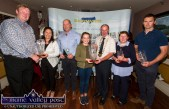 Spring Section Winners Herds competition at the annual Kerry Friesian Breeders Herds Competition Awards Ceremony at Ó Riada's Bar and Restaurant, Ballymacelligott: ©Photograph: John Reidy