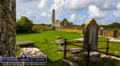 Ancient history and archaeology on every square inch of Scattery Island. ©Photograph: John Reidy