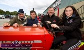 Flor McAuliffe, Kiskeam (left) pictured with Con Cronin, Kiskeam and Paudie and Saoirse McKenna, Castleisland at the annual Paudie Fitzmaurice Memorial Charity Tractor Run. ©Photograph: John Reidy 9-9-2018