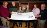 The Lukemia Trust received a cheque for €1,000 from the River Island Hotel Cards Players on Sunday night. Included are: Dermot O'Donoghue, James Bowler, Kathleen O'Connor, Liam Moriarty, Donie Cremins and Denis Geaney. ©Photograph: John Reidy