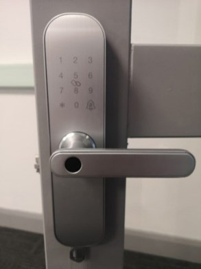 Each office door at Island Point is fitted with a customised security lock.