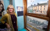 Nora Drumm pictured inside the street-side window of her salon at No 79 Main Street, Castleisland where she has worked for the past 45 years. ©Photograph: John Reidy