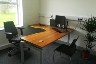 A sample of the office spaces available at Island Point, Tralee Road, Castleisland.