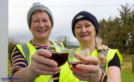 Marking their participation in the Kerrie Browne Memorial 5K Run / Walk in Brosna on Sunday morning were: Ellen Cronin, Brosna (left) and Cathleen Reidy, Castleisland. ©Photograph: John Reidy