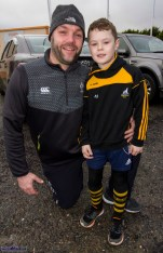 Paudie and Scott Ryan from Brosna pictured at the start of the Kerrie Browne 5K memorial run / walk in Brosna on Sunday morning. ©Photograph: John Reidy