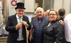Dan Tim O'Sullivan pictured with Cllr. Charlie Farrelly and Martina O'Mahony during the South Kerry native's Freedom of London ceremony recently.