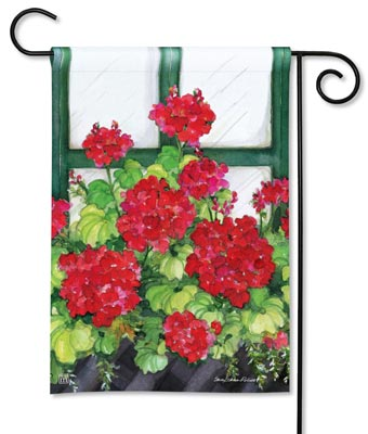 Flower Garden Flags from Maine Wreath and Flower