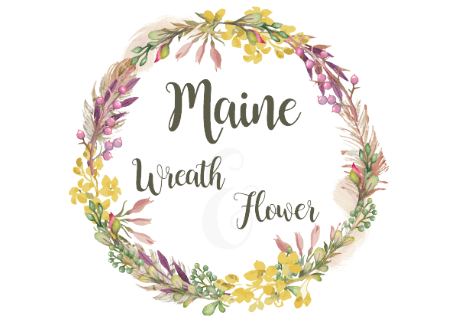 Maine Wreath & Flower