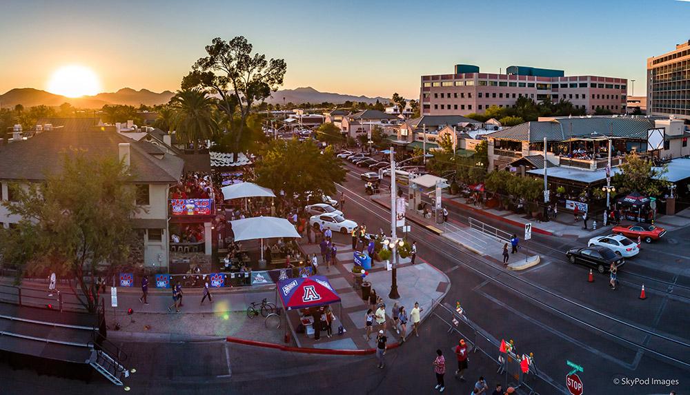 Main Gate Square University Blvd Tucson AZ