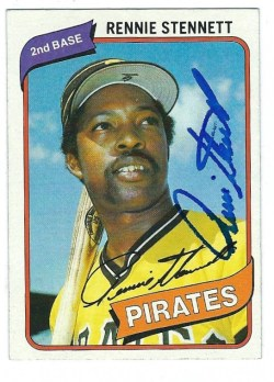 Autographed 1980 Topps Cards