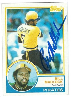 Autographed 1983 Topps Cards