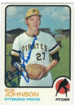 Autographed 1973 Topps Cards