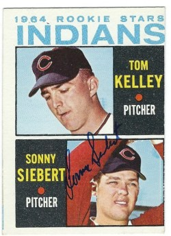 Autographed 1964 Topps Cards