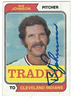 Autographed 1974 Topps Cards