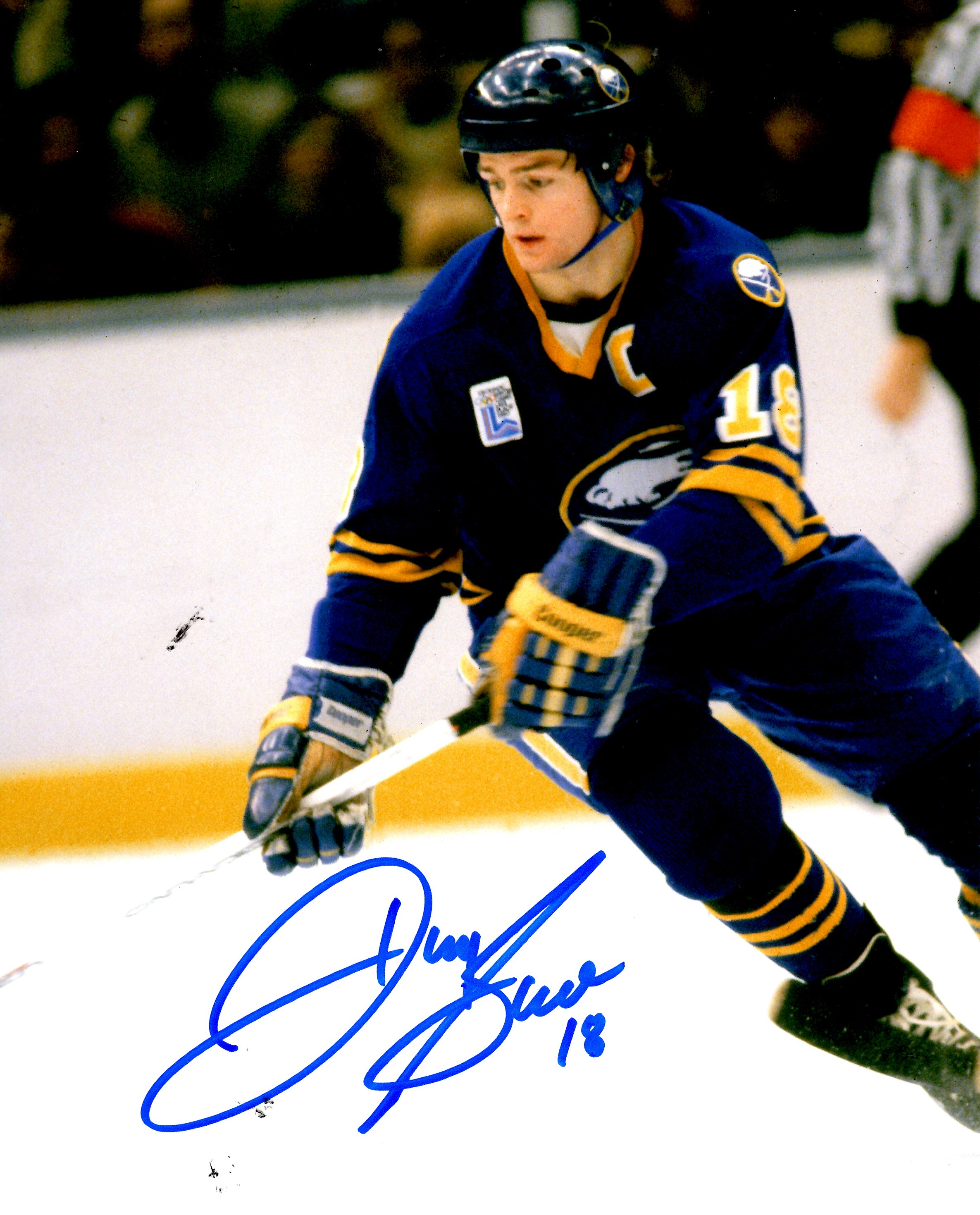 super popular 3071d 7669d Autographed DANNY GARE 8X10 Buffalo Sabres Photo