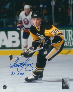 Autographed Penguins Photos