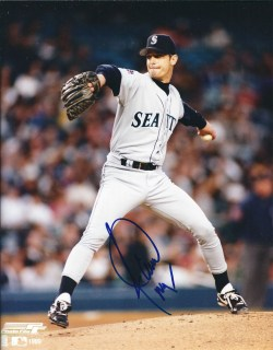Autographed Mariners Photos