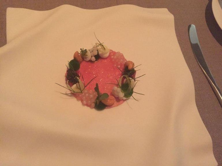 Tuna dish at Grace