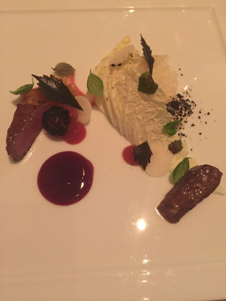 Art on a plate at Grace