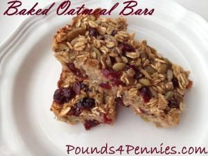 Best Baked Oatmeal Bars